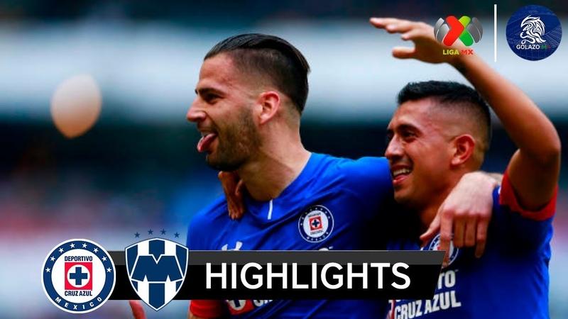 Cruz Azul vs Monterrey 2-1 | Resumen Goles | Liga MX (J12) AP2018 | 2018 HD