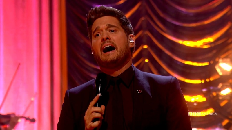 Michael Bublé Performs Мои глаза видят только тебя' | The Graham Norton Show | BBC America