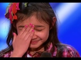 Little Girl Starts To CRY after... America's Got Talent