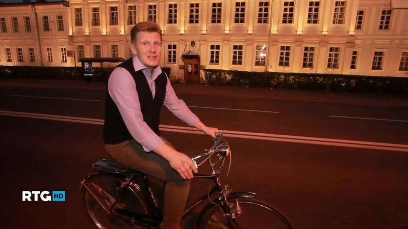 Велопрогулка по Петербургу белой ночью RTG TV HD