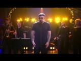 Баста спел песню «Мои разбитые мечты» на Вечернем Урганте