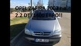 Opel Zafira из Литвы 1400 евро