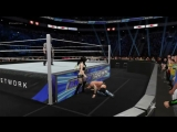 Chris Jericho vs Paige Request Match Cpu vs Cpu WWE 2K17