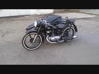 Мотоцикл ИЖ 49. Реставрация