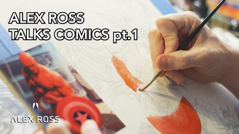 Alex Ross Talks Painting Comics pt. 1