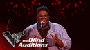 Roger Samuels' 'Footprints In The Sand' Blind Auditions The Voice UK 2019