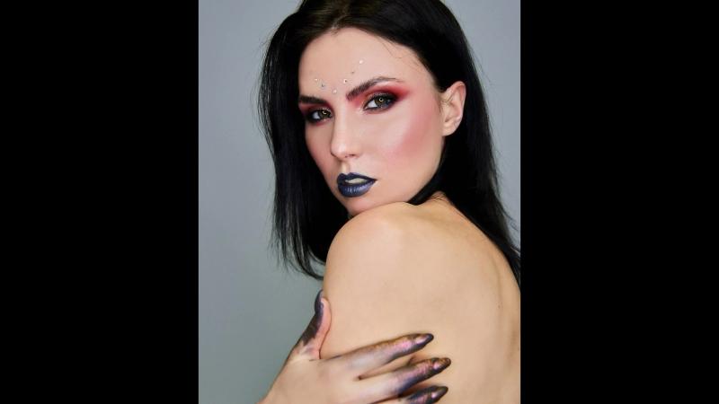Креативный макияж с МК Татьяны Дьяковой