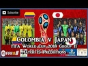 Colombia vs Japan | FIFA World Cup 2018 Group H | Match 15 Predictions FIFA 18