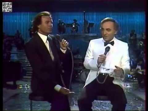 Julio Iglesias Charles Aznavour Que C'est Triste Venise