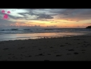 Закат на Сурине за 47 секунд Сурин бич Surin Phuket Thailand
