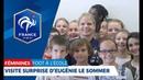 Foot à l'Ecole : Eugénie Le Sommer de retour en CM2 I FFF 2018