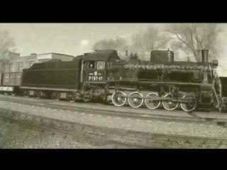 Ретро поезд в Энгельсе