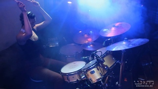 Елена Степанова. Young the Giant - Cough Syrup (drum cover)