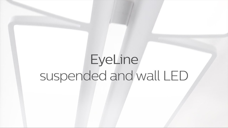 Philips Ledalite EyeLine suspended wall LED