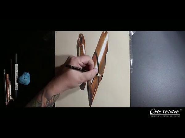 3D Drawing of Cheyenne Sol Nova (by Michael Koschel)