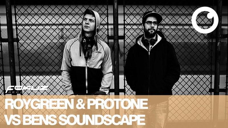 RoyGreen, Protone and Ben Soundscape - Round 1 [Fokuz Recordings] - Liquid Drum Bass