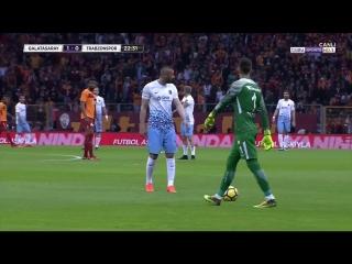 Galatasaray-Trabzon 1.04.18 1 Yarı