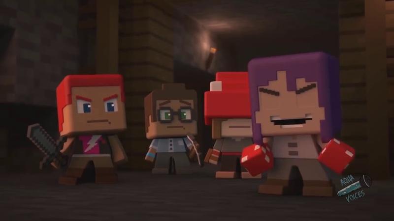 Minecraft мини серии Серия 2 на Русском Заброшенная шахта