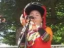 MA GUO GUO play bamboo jew harp