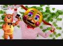 Бантики косички • ТАНЯ МУР и ПРИНЦЕССЫ ДИСНЕЯ: превращение в аниматроников ФНаФ!