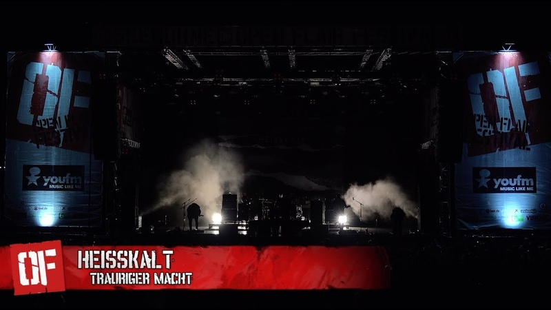 Heisskalt Trauriger Macht Open Flair Festival 2017