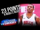 Wendell Carter Jr. Full Highlights 2018.07.10 Bulls vs Hawks - 23 Pts, 2 Blks! | FreeDawkins