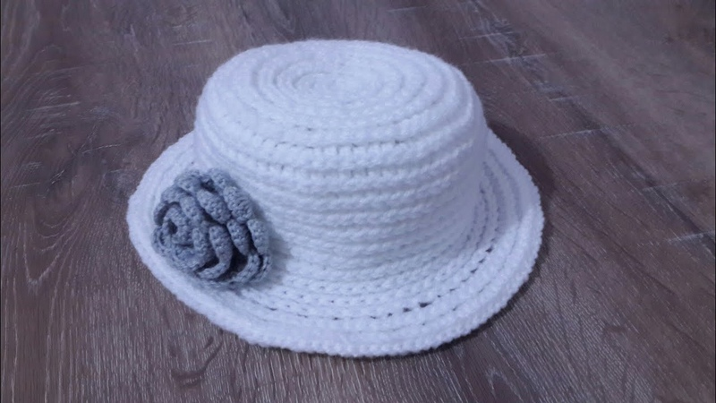 Tığ İşi Kolay Şapka Yapımı (Çookk Kolay) crochet 11