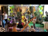 🦊🐯🐱🦁🐰 День рождения в стиле Сафари в ресторане Лимон