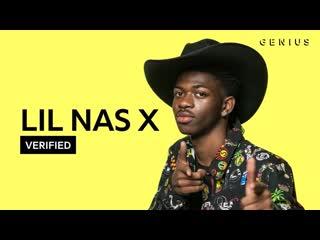 Lil nas x объясняет значение строчек песни «old town road» (переведено сайтом rhyme.ru)