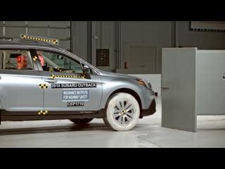 Subaru crash test