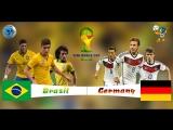 Чемпионат Мира 2014 / 1/2 финала Бразилия - Германия
