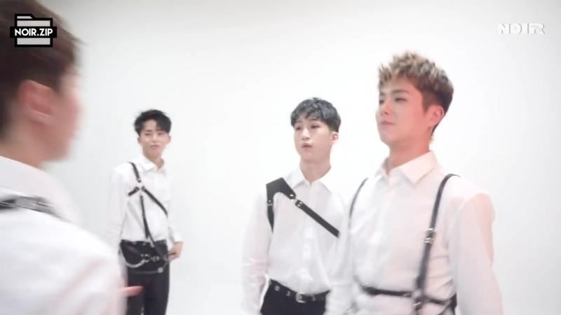 6 TOPGUN 자켓 촬영 비하인드