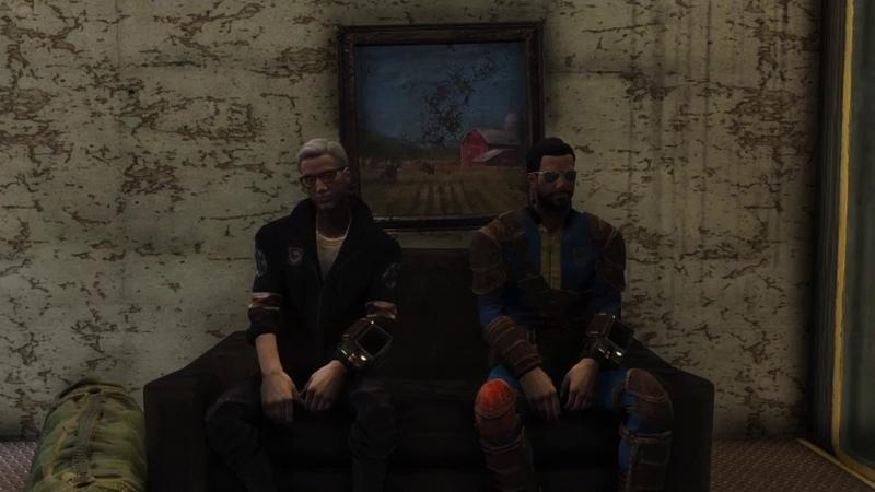 Я и Монтажер ишим приключения ! (возможно) Путешествие по Fallout 76