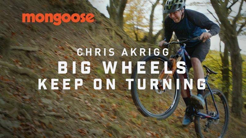 Chris Akrigg Big Wheels Keep on Turning