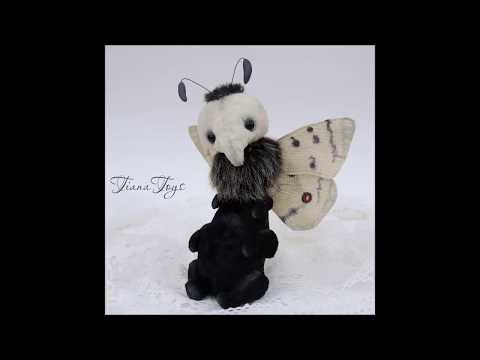 DIY How to make TEDDY. Sew Motya Part 1 Prepare materials and transfer pattern