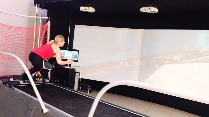 Горнолыжный и сноуборд-тренажёр SkyTec