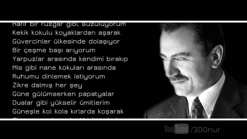 Muhsin Yazıcıoğlu Üşüyorum Şiiri
