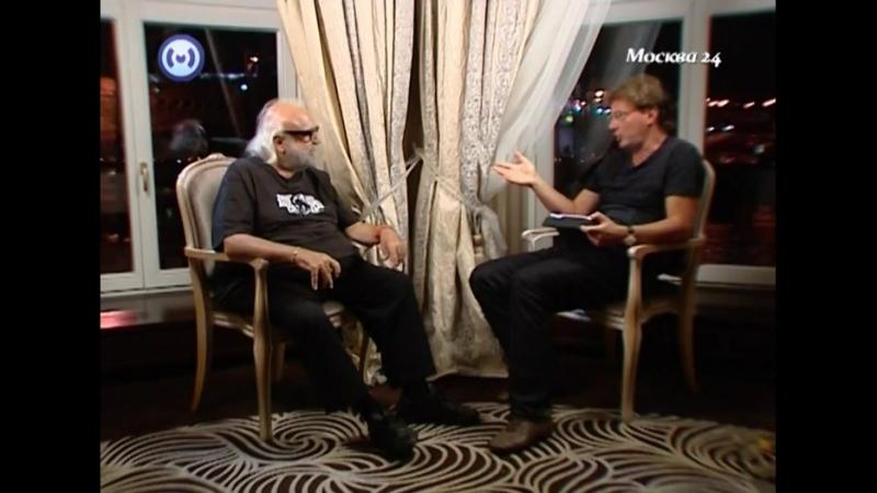 Демис Руссос в гостях у канала Москва 24 2012 год