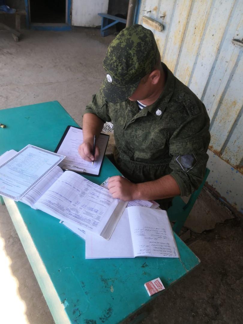 Погрануправление ФСБ России по Ростовской области сообщает о задержании должностного лица