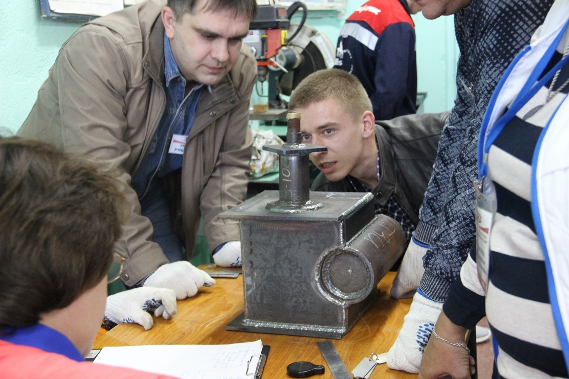 «Красный котельщик» провел корпоративный конкурс среди электросварщиков «Лучший по профессии»