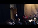 Анастасия Киселева на Презентации книги стихов Мариуса Торреса