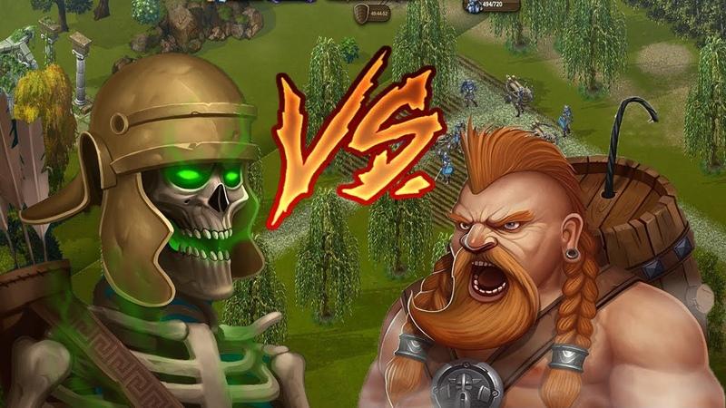 Рыцари:Битва героев - Вася Рак vs Ученика Некроманта или Возращение блудного мудилы