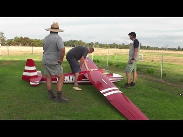Large RC Gliders Wangaratta 2017. VARMS