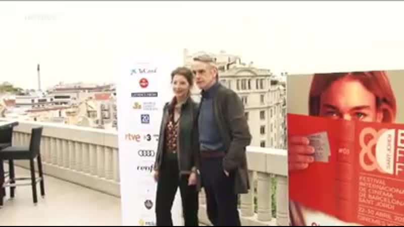 Jeremy Irons at the BCN Film Festival 2019