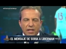 Cristóbal Soria RESPONDE a Liberman_ PÍDELE PERDÓN a Messi por las FALTAS de RESPETO