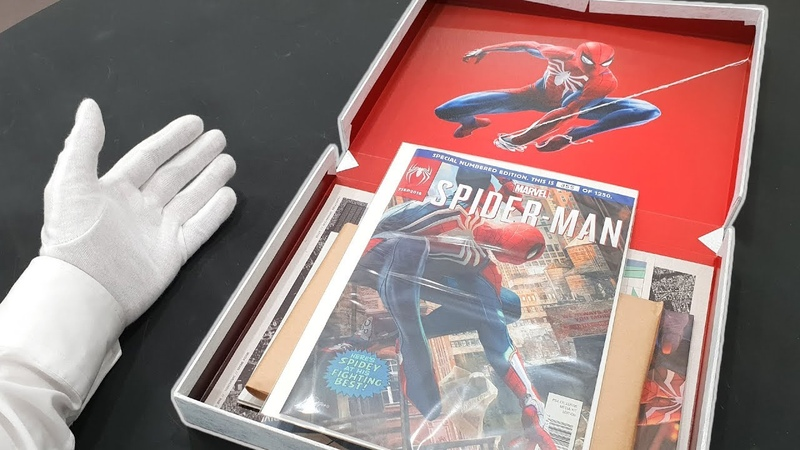 Unboxing Marvel's SPIDER-MAN for PS4! (Ultra Rare Limited Edition) Media Kit Box Bag