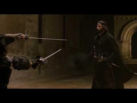 Испанское фехтование. Эпизод фильма Капитан Алатристе