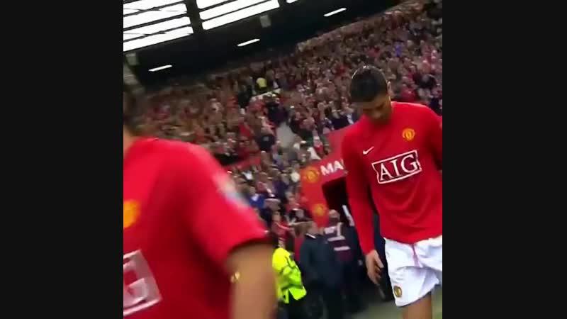 Роналду в Манчестер Юнайтед 🔥😍