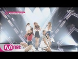 Produce 101 Ave. age 17.8 years! 5 Cuties - Group 2 4MINUTE