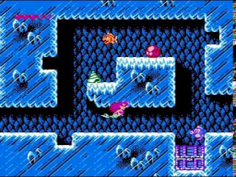 Little Mermaid, The (NES) (No damage, standart weapon, almost pacifist )